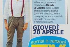 Tv Sorrisi e Canzoni 12 aprile 2017
